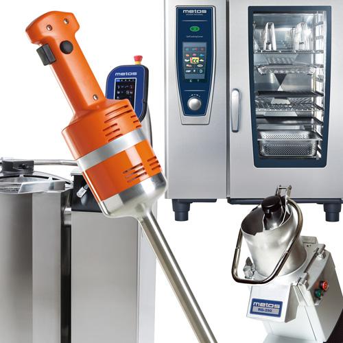 Køkkenmaskiner og udstyr